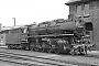"""Batignolles 695 - DB """"043 903-4"""" 30.07.1975 - Rheine, BahnbetriebswerkRichard Schulz (Archiv Christoph und Burkhard Beyer)"""