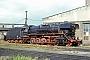 """BLW 15031 - DR """"44 0350-7"""" 10.10.1981 - Nordhausen (Thüringen), BahnbetriebswerkHartmut Michler (Archiv Jörg Helbig)"""
