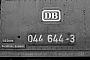 """BLW 15100 - DB  """"044 644-3"""" 28.02.1976 - Gelsenkirchen-Bismarck, BahnbetriebswerkMichael Hafenrichter"""
