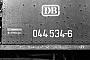 """BLW 15374 - DB  """"044 534-6"""" 23.07.1976 - Gelsenkirchen-Bismarck, BahnbetriebswerkMichael Hafenrichter"""