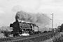 """BMAG 11314 - DB """"012 058-4"""" 03.09.1968 - Stirpe, Auffahrt zur Brücke über MittellandkanalHelmut Beyer"""