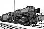 """BMAG 11349 - DB """"011 093-2"""" 06.01.1968 - Rheine, BahnbetriebswerkWeber (Archiv Andreas Schmidt)"""
