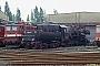 """BMAG 13130 - DR """"52 8028-4"""" 09.08.1990 - Engelsdorf (bei Leipzig), BahnbetriebswerkIngmar Weidig"""
