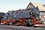 """BMAG 9921 - HSB """"99 7222-5"""" 31.08.1997 - Wernigerode, Bahnbetriebswerk HSBThomas Grubitz (Archiv Stefan Kier)"""