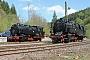 """Borsig 10353 - Rübelandbahn """"95 6676"""" 08.05.2016 - Oberharz (am Brocken)-RübelandGerd Zerulla"""