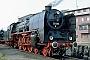 """Borsig 12251 - VMD """"03 001"""" 06.05.1992 - Saalfeld (Saale), BahnbetriebswerkGerd Bembnista (Archiv Stefan Kier)"""