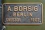 """Borsig 5331 - Kandertalbahn """"7"""" 03.05.2016 - KandernDietmar Stresow"""