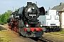 """DWM 733 - IGE Werrabahn """"52 8075-5"""" 25.08.2006 - Chemnitz-Hilbersdorf, Sächsisches EisenbahnmuseumStefan Kier"""