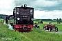 """Esslingen 3072 - Öchsle Schmalspurbahn """"99 633"""" 03.06.1990 - bei ReinstettenWerner Wölke"""