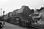 """Esslingen 4481 - DR """"50 3551-4"""" 26.04.1975 - Stendal, ReichsbahnausbesserungswerkThomas Grubitz (Archiv Stefan Kier)"""