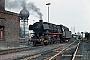 """Fives 5004 - DB """"044 424-0"""" 08.03.1977 - Gelsenkirchen-Bismarck, BahnbetriebswerkAxel Johanßen"""