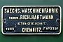 "Hartmann 2381 - DB AG ""099 701-5"" 18.05.1996 - Radebeul-OstHeinrich Hölscher"