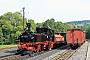 """Hartmann 2384 - IGP """"99 1542-2"""" 02.09.2016 - Jöhstadt-Steinbach, BahnhofKlaus Hentschel"""