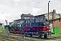 """Hartmann 3320 - SEM """"99 566"""" 18.06.1995 - Chemnitz-Hilbersdorf, Sächsisches EisenbahnmuseumRalph Mildner (Archiv Stefan Kier)"""