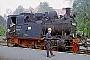 """Henschel 12879 - DR """"99 6101-2"""" 13.05.1985 - Wernigerode, Bahnhof WesterntorRudi Lautenbach"""