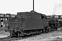 "Henschel 22570 - DB ""001 128-8"" 30.07.1968 - Hof, BahnbetriebswerkUlrich Budde"