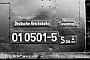 """Henschel 22722 - DR """"01 0501-5"""" 06.09.1972 - BebraWerner Wölke"""