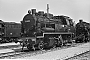 "Henschel 23877 - DR ""91 6580"" 05.06.1982 - Erfurt, Bahnhof WestFrank Pilz (Archiv Stefan Kier)"