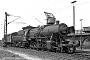 """Henschel 24648 - DB  """"050 028-0"""" 01.06.1968 - Porz-Gremberghoven, Bahnbetriebswerk GrembergUlrich Budde"""