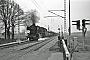"""Henschel 24777 - DB """"042 210-5"""" 11.04.1975 - Salzbergen, Blockstelle DevesKlaus Görs"""