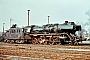 """Henschel 24967 - DR """"50 0054-2"""" 02.04.1978 - Wismar, BahnbetriebswerkMichael Uhren"""