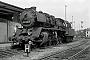 """Henschel 25859 - DR """"50 3600-9"""" 13.08.1982 - Falkenstein (Vogtland), BahnhofJörg Helbig"""
