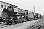 """Henschel 26036 - DB  """"44 427"""" __.07.1967 - Paderborn, BahnbetriebswerkFoto: Richard Schulz (Archiv Christoph und Burkhard Beyer)"""