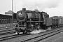 """Henschel 26079 - DB  """"44 470"""" 28.02.1967 - Herford, BahnhofGerhard Bothe †"""