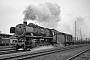"""Henschel 26081 - DB  """"44 472"""" 19.09.1967 - Herford, BahnhofGerhard Bothe †"""