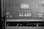 "Henschel 26089 - DB ""44 480"" __.01.1967 - Rottweil, BahnbetriebswerkHelmut H. Müller"