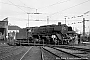 "Henschel 26093 - DB  ""44 484"" 19.10.1967 - Wuppertal-Vohwinkel, BahnbetriebswerkUlrich Budde"