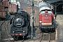"""Henschel 26604 - DR """"50 3539-9"""" 24.05.1982 - Döbeln, HauptbahnhofMichael Hafenrichter"""
