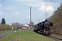 """Henschel 26808 - UEF """"052 740-8"""" 22.04.2006 - Grüdau, Bahnhof Mittel-GrüdauRalph Mildner (Archiv Stefan Kier)"""