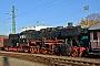 """Henschel 26808 - UEF """"052 740-8"""" 17.11.2018 - Ettlingen, Bahnhof WestWerner Schwan"""