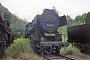 """Henschel 28215 - DR """"52 8185-2"""" 00.10.1991 - Aue (Sachsen), BahnbetriebswerkKarsten Pinther"""