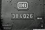 """Hohenzollern 4286 - DB """"38 4026"""" __.__.1966 - Böblingen, Bahnhof Helmut H. Müller"""