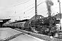 """Hohenzollern 4591 - DB """"01 046"""" __.10.1966 - Stuttgart-Bad Cannstadt, BahnhofKarl-Friedrich Seitz"""