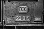 """Jung 11474 - DB """"23 019"""" __.09.1965 - Stuttgart, HauptbahnhofHelmut H. Müller"""