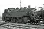 "Jung 7244 - DB  ""064 457-5"" 08.09.1973 - Crailsheim, BahnbetriebswerkMartin Welzel"