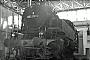 "Jung 9268 - eurovapor ""64 518"" 09.07.1974 - Stuttgart-Rosenstein, BahnbetriebswerkMartin Welzel"