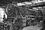 """Jung 9318 - BSW Gelsenkirchen-Bismarck """"41 360"""" 07.11.1978 - Gelsenkirchen-Bismarck, BahnbetriebswerkMichael Hafenrichter"""