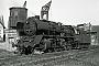 "Krauss-Maffei 16087 - DR ""50 3703-1"" 12.10.1977 - Stendal, BahnbetriebswerkTrunk (Archiv Jörg Helbig)"