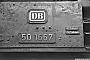 """Krauss-Maffei 16210 - DB """"50 1667"""" __.__.1966 - Crailsheim, BahnbetriebswerkHelmut H. Müller"""
