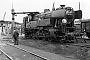 "Krauss-Maffei 17668 - DB ""065 008-5"" 05.09.1970 - Darmstadt, BahnbetriebswerkU.Mihlan (Archiv Wolfgang König)"
