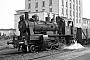 """Krauss 8338 - BLE """"142"""" 02.08.1967 - Butzbach, Bahnhof OstGerhard Bothe [†]"""