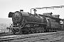 """Krenau 1104 - DR """"44 0616-1"""" 16.04.1983 - Meiningen, ReichsbahnausbesserungswerkRudi Lehmann (Archiv Stefan Kier)"""