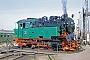"""Krupp 1875 - HSB """"99 6001-4"""" 08.05.1993 - Nordhausen, LokbahnhofGerd Bembnista (Archiv Stefan Kier)"""