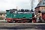 """Krupp 1875 - HSB """"99 6001-4"""" 27.03.1993 - Gernrode (Harz), LokbahnhofGerd Bembnista (Archiv Stefan Kier)"""