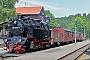 """Krupp 1875 - HSB """"99 6001-4"""" 04.07.2014 - Alexisbad, BahnhofStefan Kier"""