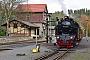 """Krupp 1875 - HSB """"99 6001-4"""" 26.10.2017 - Harzgerode-Alexisbad, Bahnhof AlexisbadStefan Kier"""